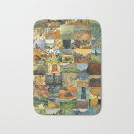 Vincent van Gogh Montage Bath Mat