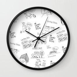 All the Keys Wall Clock