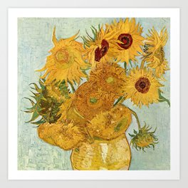Van Gogh - sunflowers Art Print