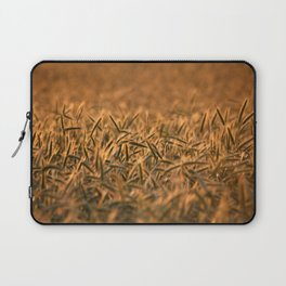 Golden grain | Goldenes Getreide Laptop Sleeve