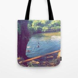Goose Creek Tote Bag