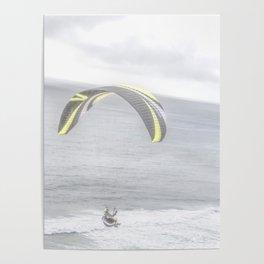 """""""Paraglider 1"""" by Murray Bolesta! Poster"""