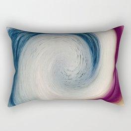 Kicking The Wave Rectangular Pillow