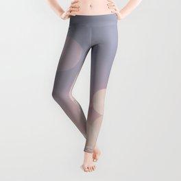 Pink Blurry Circles (Color) Leggings