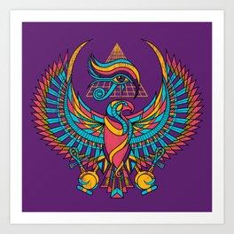 Eye of Horus Art Print