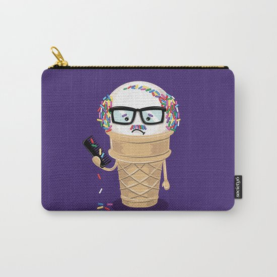 Ice Cream Coneover Carry-All Pouch