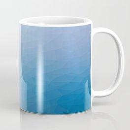 Blue flakes. Copos azules. Flocons bleus. Blaue flocken. Голубые хлопья. Coffee Mug