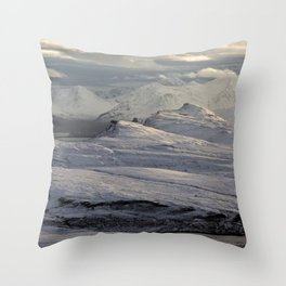 Trotternish Peninsula and Cuillin Mountains Isle of Skye Throw Pillow
