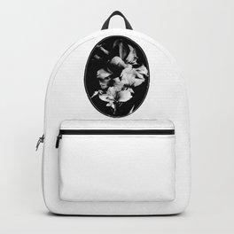 Vintage flowers. Backpack
