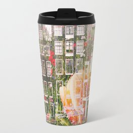 Flowers in Amsterdam Travel Mug