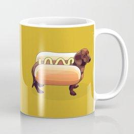 Dachshund Wiener Hot Dog Coffee Mug