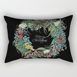 An Aussie Christmas BLACK Rectangular Pillow