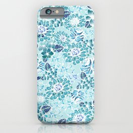 Floral Graden iPhone Case