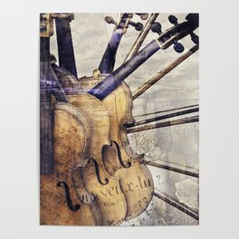 Classic Violins Poster