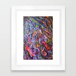 Granville Street in the Rain Framed Art Print