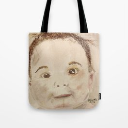 Baby bathtime Tote Bag