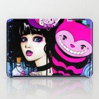 returns iPad Cases featuring Alice Returns to Wonderland by Leilani Joy