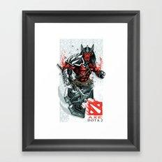 AXE Framed Art Print