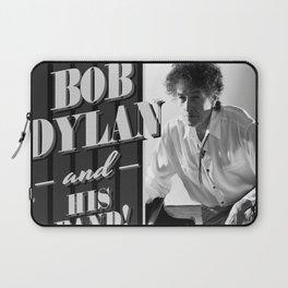 bob dylan his band tour 2019 basket Laptop Sleeve