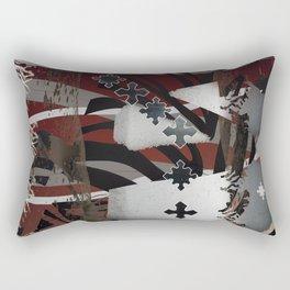 Crucible Free Form Rectangular Pillow