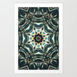 Mercury Heartbeat Art Print