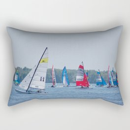 Racing Rectangular Pillow