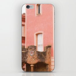 Gaudi house architecture! iPhone Skin