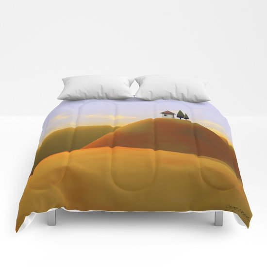 Toscana Two (part of diptych) Comforters