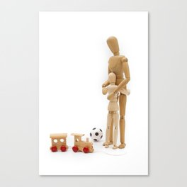 My Daddy! Canvas Print