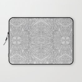 Frost & Ash - an Art Nouveau Inspired Pattern Laptop Sleeve