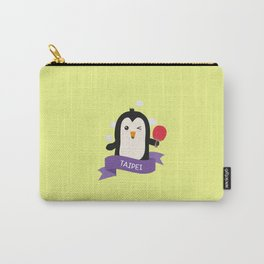 Penguin table tennis from TAIPEI T-Shirt Carry-All Pouch