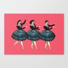 Dancers Canvas Print