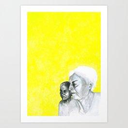 Au travail 10 Art Print