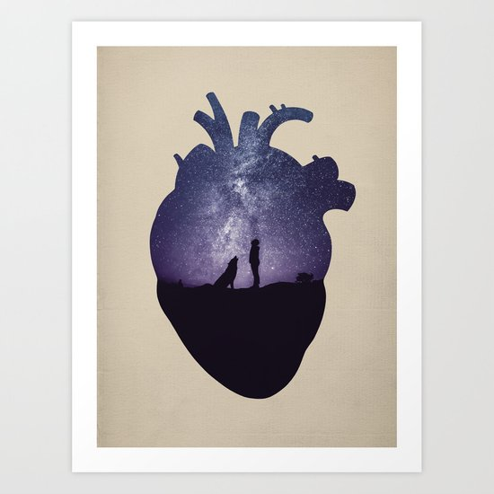 We Are All Made of Stars Art Print