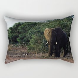Elephants in Safari Rectangular Pillow
