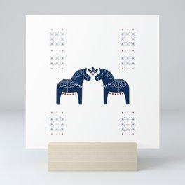 Dala Horse Mini Art Print