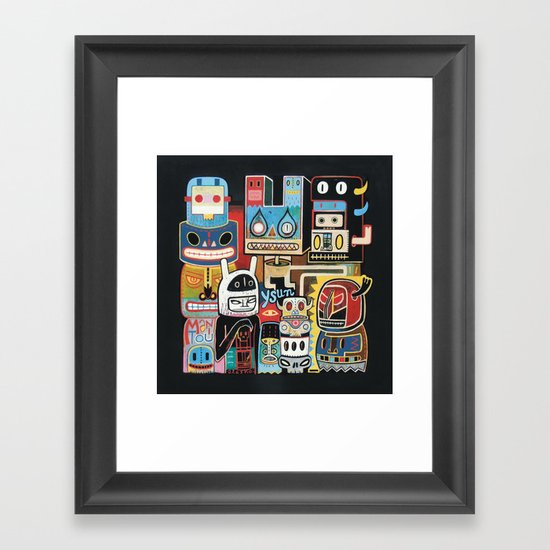 Ysun  Framed Art Print