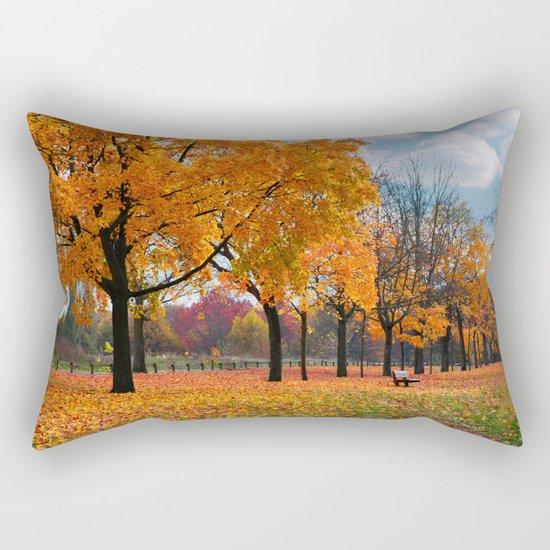 Autumn trees 47 Rectangular Pillow