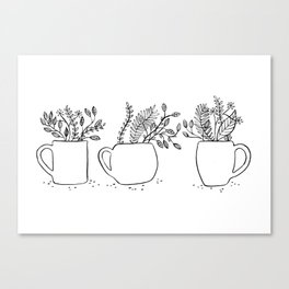 A CUP OF NATURE Canvas Print