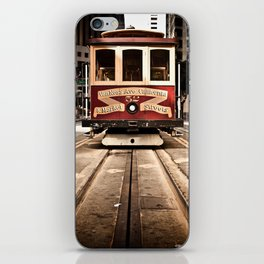 San Francisco Cable Car iPhone Skin