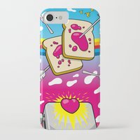nirvana iPhone & iPod Cases featuring Breakfast Nirvana by Kazze