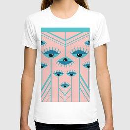 Unamused Eyes - Art Deco T-shirt