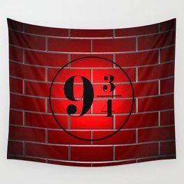 peron brick wall Wall Tapestry
