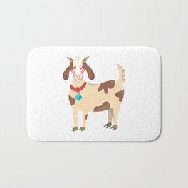 Cute Goat Bath Mat