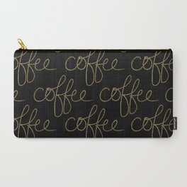 Coffee Dots Carry-All Pouch