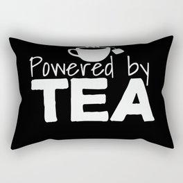 Tea Saying Lover Coffee Caffeine Joke Pun Rectangular Pillow