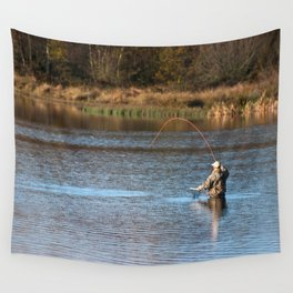 Gone Fishing 2 Wall Tapestry