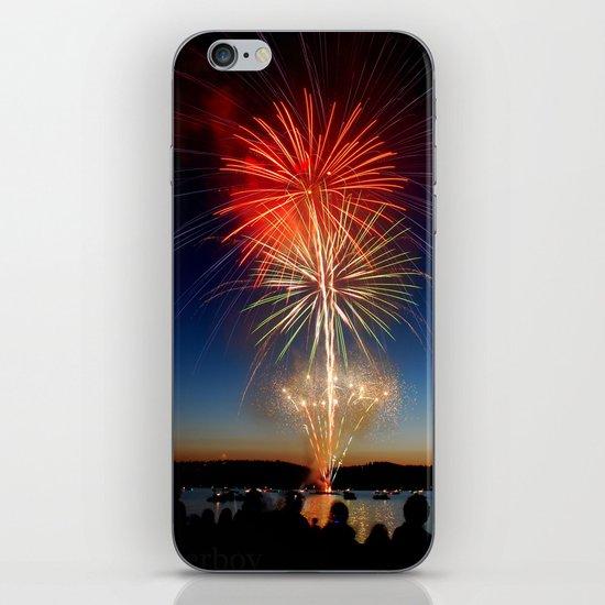 Celebrate iPhone & iPod Skin