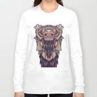 indonesia Long Sleeve T-shirts featuring Barong Indonesia by Ahmad Mujib