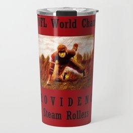 1928 American Football World Champions Providence Steam Rollers Travel Mug